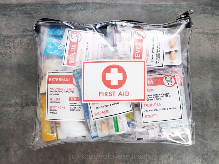 First Aid 1 SheenaLovesSunsets.com