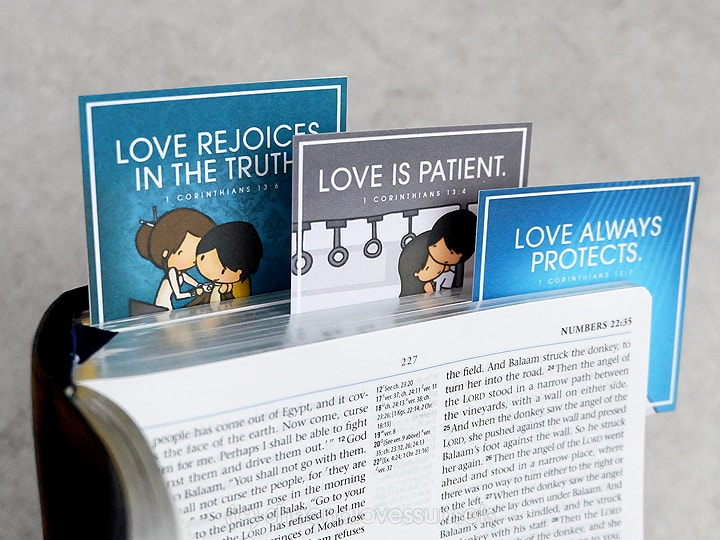 Illustrated Bible Verse 1 Corinthians 13 Artwork