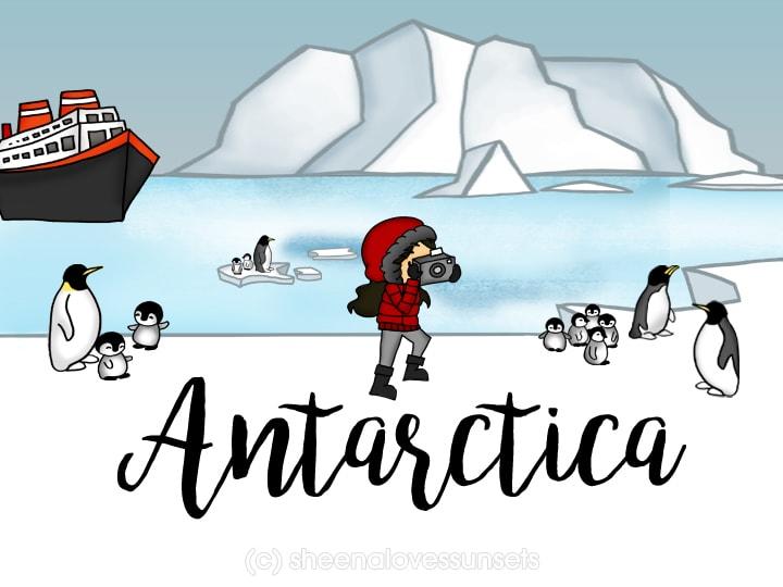 Dream Destination Sheena Loves Sunsets Antarctica