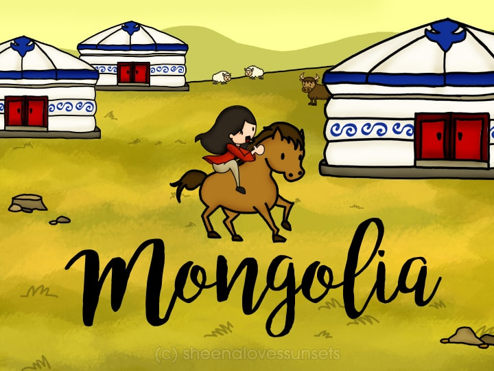Dream Destination Sheena Loves Sunsets Mongolia