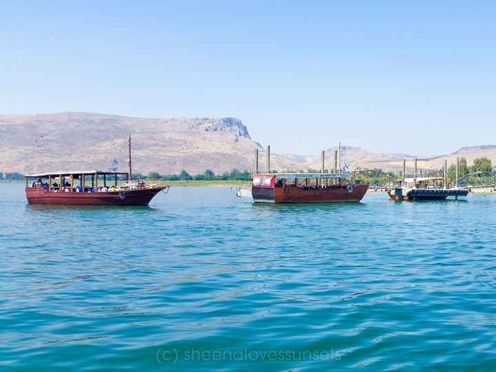 CCF Holy Land Tour Sea of Galilee