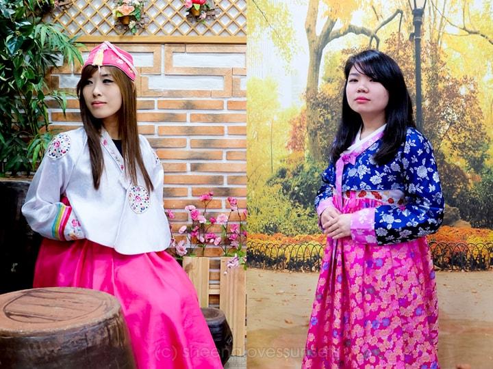 Kimchi School Hanbok Wearing