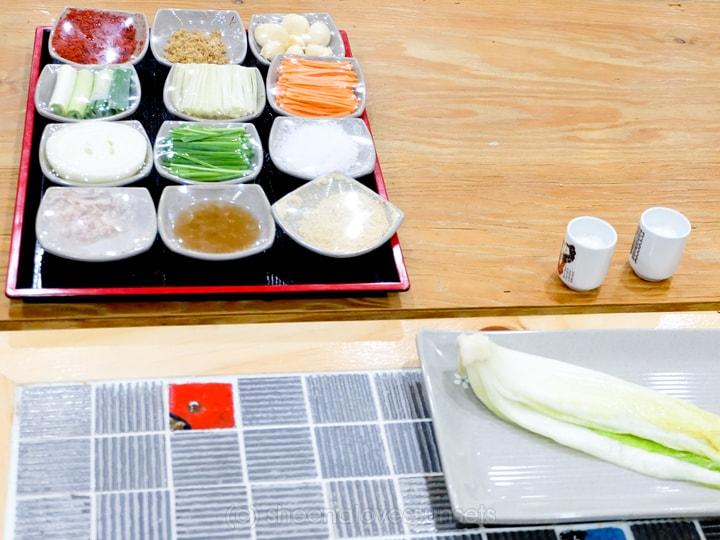 Kimchi School Kimchi Making